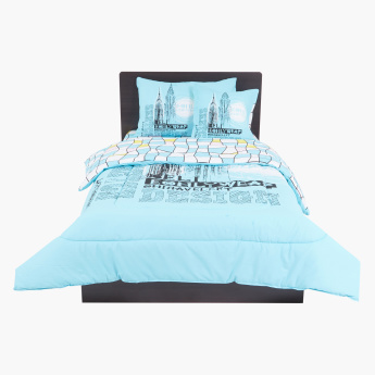 Empire Printed 4-Piece Comforter Set - 250x170 cms