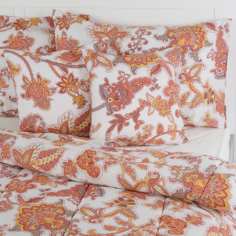 Printed 5-Piece Queen Comfortor Set - 200x240 cms
