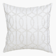 Celtic Embellished Cushion Cover - 40x40 cms