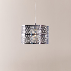 Lattice Metallic Ceiling Lamp