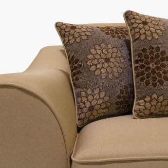 Joy 7-Seater Sofa Set with Printed Cushions