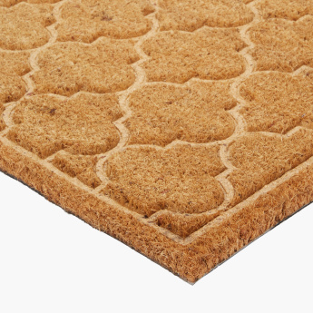 Catlyn Textured Embossed Rectangular Doormat - 45x75 cms