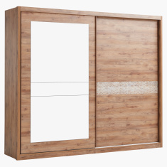 Bonnelle Sliding Door Wardrobe with Mirror