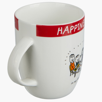 Happiness is My Family Mug - 355 ml