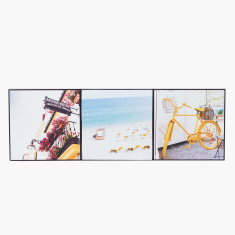 Printed 3-Piece Canvas Wall Decor Set