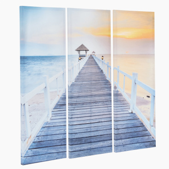 Printed 3-Piece Canvas Wall Decor