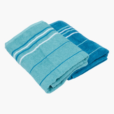 Elementry Striped Bath Towel - Set of 2