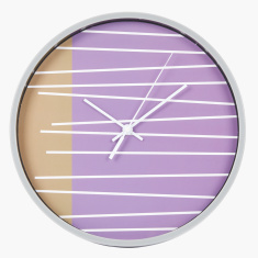 Ester Striped Wall Clock