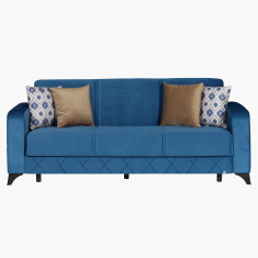 Viva Moonlight 3-Seater Sofa Bed with Cushions