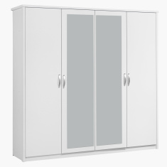 Costagat 4-Door Wardrobe