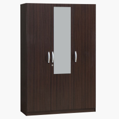 Joy Agata 3-Door Wardrobe with Mirror