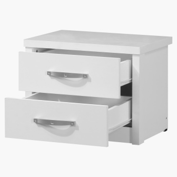 Costagat 2-Drawer Nightstand