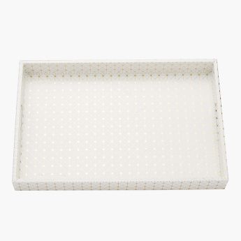 Orion Printed Tray with Handles