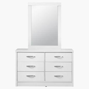 Costagat 6-Drawer Master Dresser Mirror