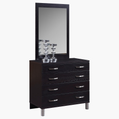 Apollo Mirror for 4-Drawers Young Dresser in MDF