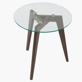 Salerno Round End Table