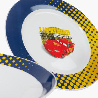 Cars Printed 3-Piece Breakfast Set