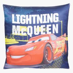 Cars Printed Cushion - 40x40 cms