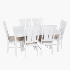 Noosa 6-Seater Dining Table Set