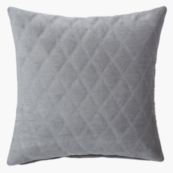 Lux Quilted Cushion Cover - 40x40 cms