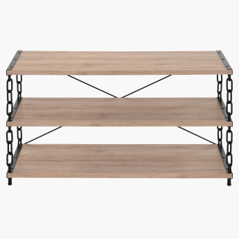Crofton 3-Shelf Low TV Unit