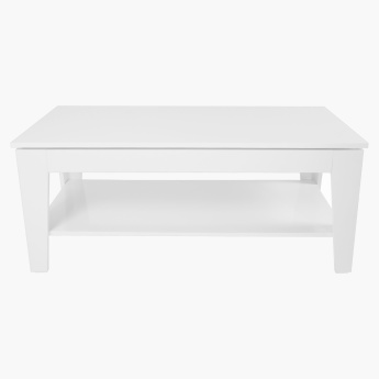 Picasso Rectangular Coffee Table with Undershelf