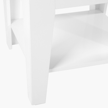 Picasso Side Table with Undershelf