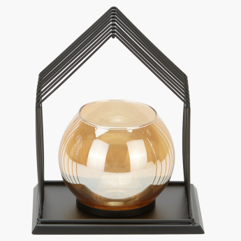 Strawhut Decorative Candle Holder