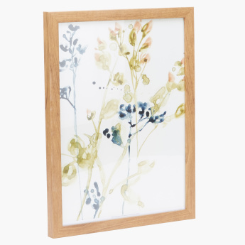 Sage Printed Picture Frame - 30x40 cms