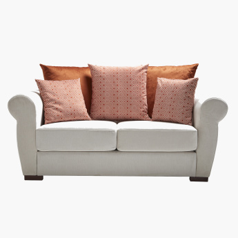 Brooklyn 2-Seater Sofa with 5 Cushions