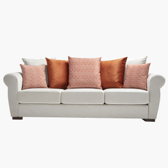 Brooklyn 3-Seater Sofa with 7 Cushions