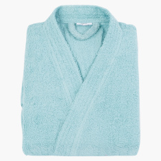 Nexus Long Sleeves Kimono Bathrobe - Large