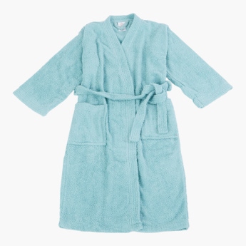 Nexus Long Sleeves Kimono Bathrobe - Extra Large
