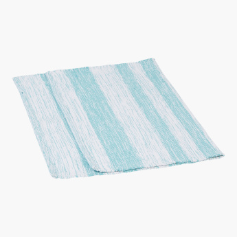 Madison Striped and Textured Dhurrie - 60x90 cms
