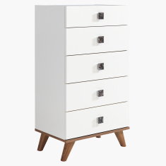 Valeria 5 Chest of Drawers
