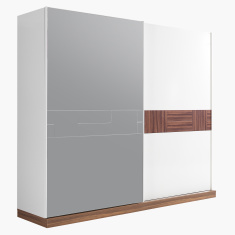 Valeria 2-Door Sliding Wardrobe with Mirror