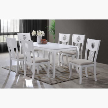 Queen Anne 7-Piece Dining Table Set