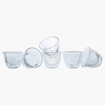Borosilicate 8-Piece Decorative Cawa Tea Set