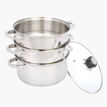 Prime 3-Piece Steamer Set with Lid