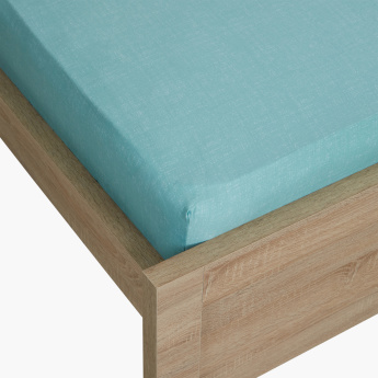 Breeze Twin Fitted Sheet with Elasticised Edges - 120x200 cms