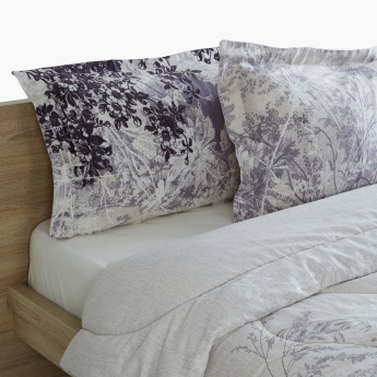 Andy Printed 3-Piece Twin Comforter Set - 160x220 cms
