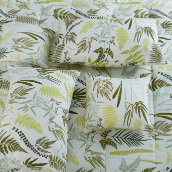 Fern Printed 5-Piece King Comforter Set - 220x240 cms