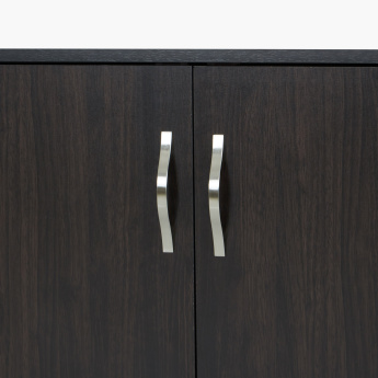 Jazz 9-Pair 2-Door Shoe Cabinet