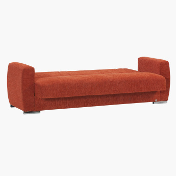 Dahlia 3-Seater Sofa Bed with Storage and Cushions