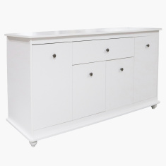 Noosa 4-Door Sideboard with 1 Drawer