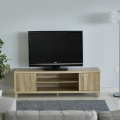 Costagat Rectangular 2-Door TV Unit