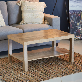 Costagat Rectangular Coffee Table with Shelf
