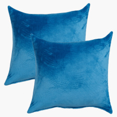 Lavish Textured Filled Cushion - Set of 2