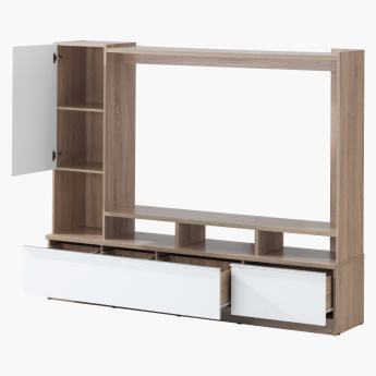 Vita Wall Unit with Storage