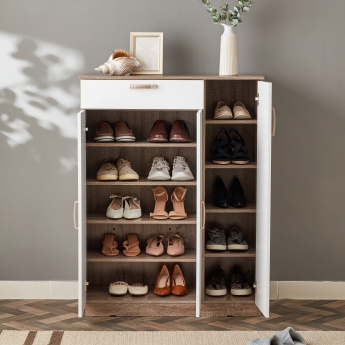 Sharon 3-Doors and 1-Drawer Shoe Cabinet